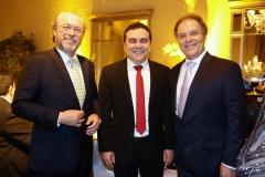 Cândido Albuquerque, Fernando Linhares e José Carlos Pontes