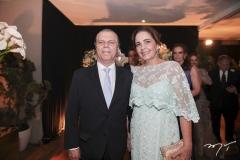 Cláudio e Giana Studart
