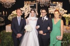 Erivaldo Arraes, Roberta Furtado, Cadeh Juaçaba e Alessandra Arraes