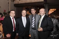 Fernando Linhares, José Carlos Pontes, Márcio Sobral e Cândido Albuquerque