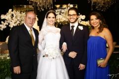 Fernando Travessoni, Roberta Furtado, Cadeh Juaçaba e Márcia Travessoni