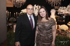 Francisco Philomeno e Nicolle Barbosa