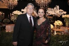 Ielton Barreto e Márcia Sucupira