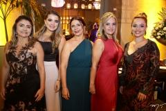 Jane Aguiar, Kamila Monteiro, Márcia Crisóstomo, Clau Gadelha e Márcia Sucupira