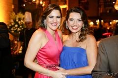Luciana Borges e Márcia Travessoni