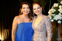 Márcia Travessoni e Claudiane Juaçaba