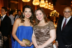 Márcia Travessoni e Nicolle Barbosa