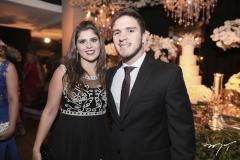 Naiana Fialho e Pedro Lima