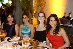 Pretinha Rolim, Inês Cláudia, Marcilea Oliveira e Denise Rolim