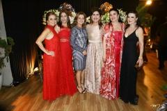Vera Passos, Maria Ester Quinderé, Geni Lima, Márcia Jereissati, Ana Juaçaba e Luzia Feitosa