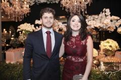Victor Perlingeiro e Clarissa Facó