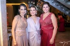 Ana Maria Castro Alves,Rhaina Huland e Nara Amaral