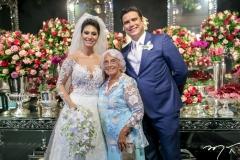 Carol Esmeraldo,Carmosa Rocha e Ted Pontes