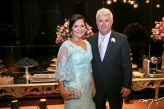 Germana e Ted Pontes
