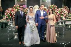 Laerte Castro Alves,Carol Esmeraldo e Ted Pontes e Ana Maria Castro Alves
