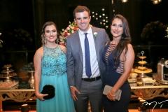 Leticia Leite, Vitor Parente e Larissa Leite