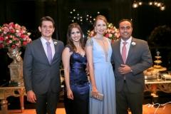 Lucas Melo, Flavia Campos,Melina Alves e Elias Leal