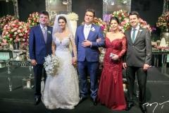 Macedo Barbosa,Carol Esmeraldo e Ted Pontes,Vania e Pedro Macedo