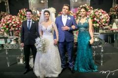 Pedro Macedo,Carol Esmeraldo e Ted Pontes e Paula Braga