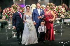 Raul Amaral, Carol Esmeraldo ,Ted Pontes, Raul e Nara Amaral