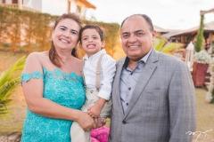 Ana Maisa, Davi e Teodoro Santos