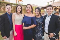 Carlos Cardoso, Natália Patrício, Márcia Patrício, Thaís Patrício e Paulo Azevedo