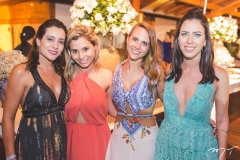 Carolina Ferreira, Isabela Corrêa, Luiza Sbaraini e Flávia Trindade