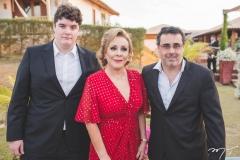 Dauto Bezerra, Regina Bezerra e Herialdo Leite