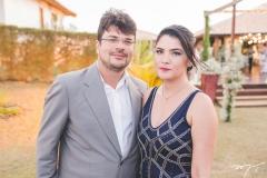 Elano Ramalho e Augusta Araújo