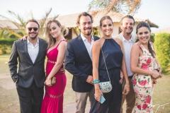Estevão Congro, Patrícia Boaro, André Cândido, Paula Cândido, Fábio e Fernanda LIma