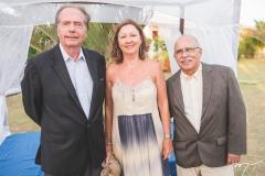 Hermano Franck, Lívia Franck e Léo Teixeira