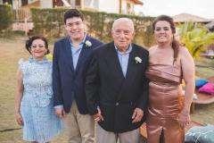 Íris Lima, Arthur Bezerra, Adauto Bezerra e Silvana Bezerra