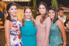 Jéssica Figueiredo, Rayssa Camurça, Milena Patrício e Roberta Teixeira