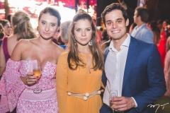 Juliana Markan, Beatriz Torres e Lucas Markan