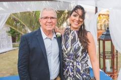 Kim Markan e Silvana Costa Lima