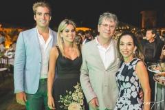 Leonardo Vidal, Amanda, Márcio e Márcia Távora