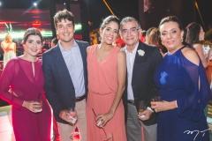 Lídia Brandão, Gonzalo Mota, Natália Quental, Suetônio Mota e Moema Mota