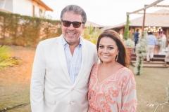 Luiz Carlos e Viviane Feitosa