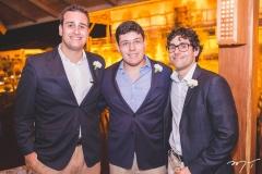 Luiz Eduardo, Arthur e Marcelo Bezerra