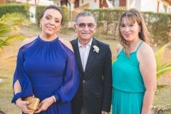 Moema Mota, Suetônio Mota e Cristiane Pei