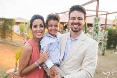 Natália, João e Leonardo Quental