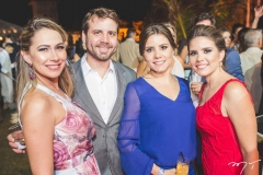 Roberta Markan, Daniel Markan, Fabíola Markan e Herica de Castro