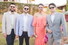 Victor Rezende, Fernando Klein, Mônica Veras e Matheus Barros