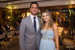 Athur Melo e Caroline Rabelo