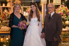 Aurora Pires, Danielle Nina e Ernesto Pires