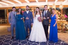 Omar Macêdo, Fernanda Levy, Filipe Távora, Danielle Nina, Ravi Macêdo e Bruna Magalhães