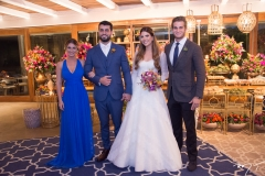 Bruna Magalhães, Filipe Távora, Danielle Nina e Ravi Macêdo