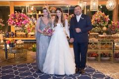 Claudia Marcos, Danielle Nina e Marcio Alessandro