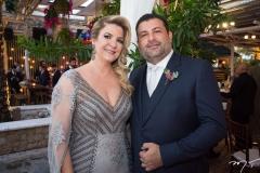 Claudia Marcos e Marcio Alessandro