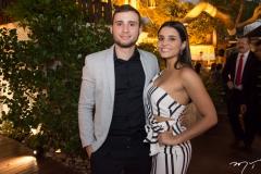 Lucas Girão e Paula Câmara